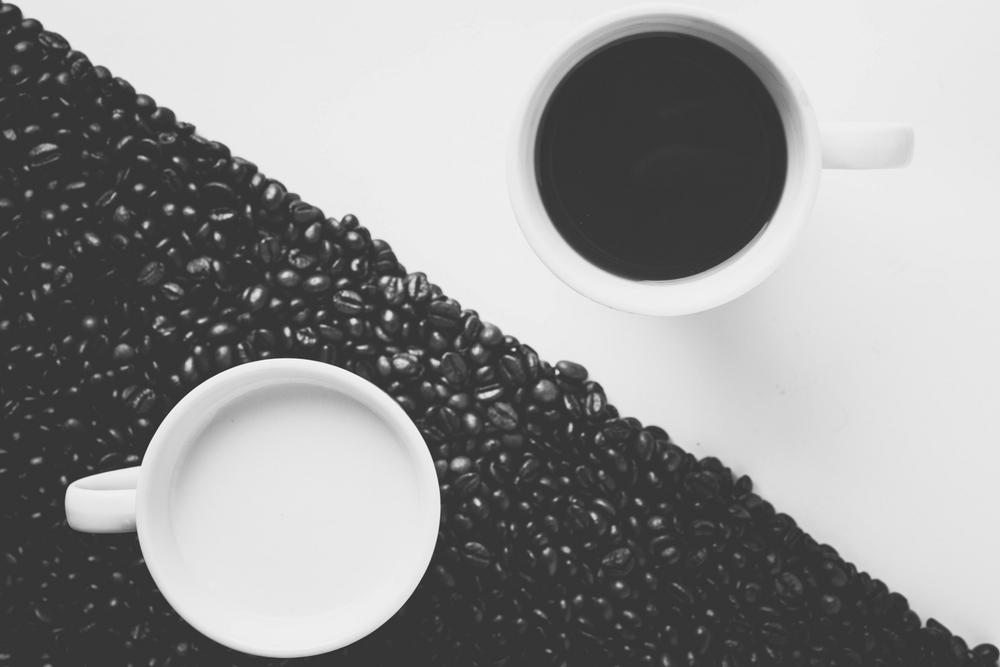 yin en yang koffie