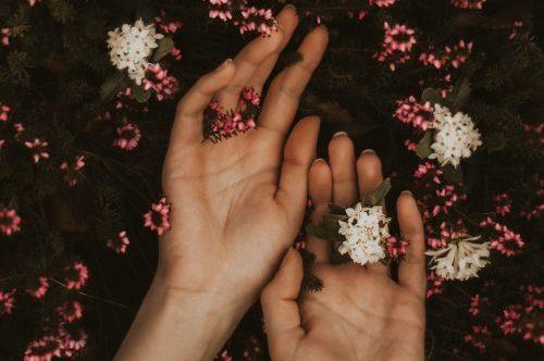vorm van je hand