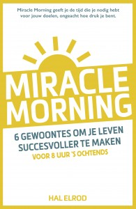 9789021563855 Miracle morning - cover