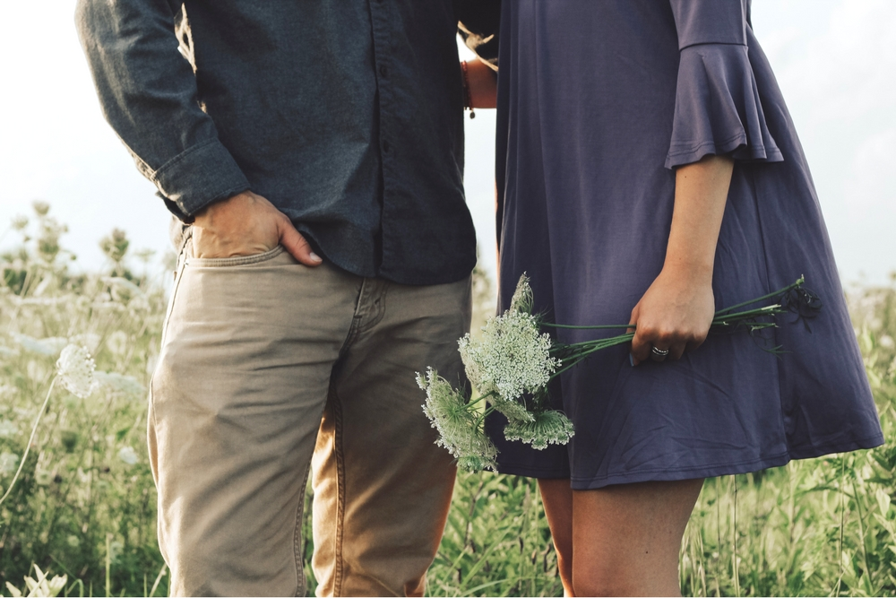eerste date liefde stelletje
