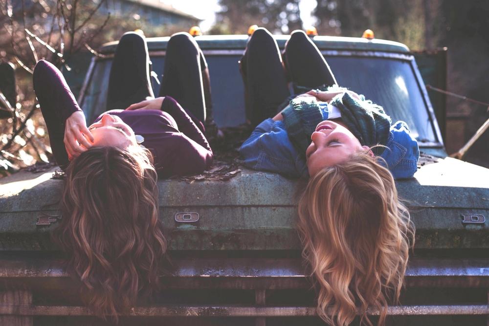 samen vriendinnen