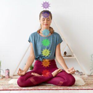 chakra's met edelstenen in balans brengen
